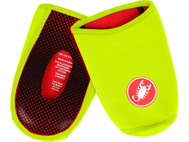 Castelli Toe Thingy 2 Toe Cover yellow fluo